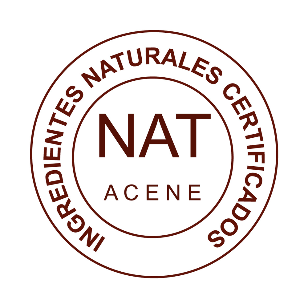 sello NAT de calidad aceites de almendras dulces natural y ecologica