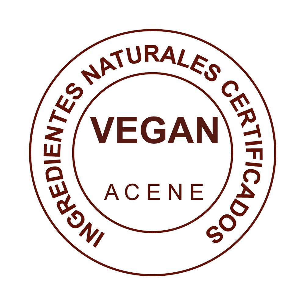 sello VEGAN de calidad aceites de almendras dulces natural y ecologica